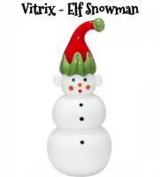 Love this ELF SNOWMAN from VITRIX HOT GLASS STUDIO #Christmas2017 #AD
