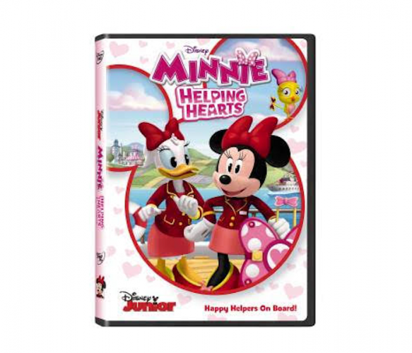 MINNIE HELPING HEARTS on DVD Today, 2/6
