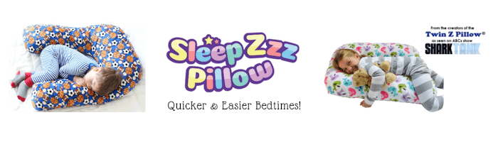 Kids Sleep Pillow – Sleep Zzz Pillow $5 off @usfg