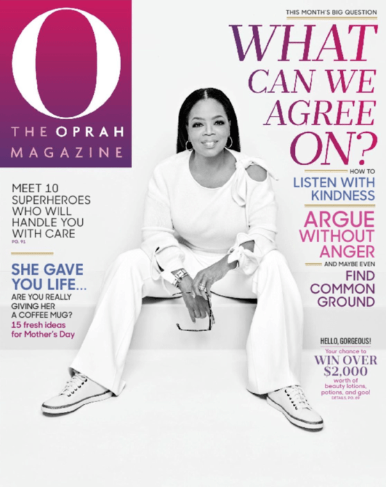O, The Oprah Magazine Subscription 1 Year FREE