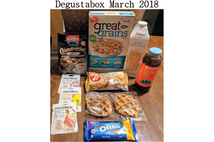 DegustaBox March 2018 Subscription Foodie Box! #ad @DegustaboxUSA #DegustaboxUSA