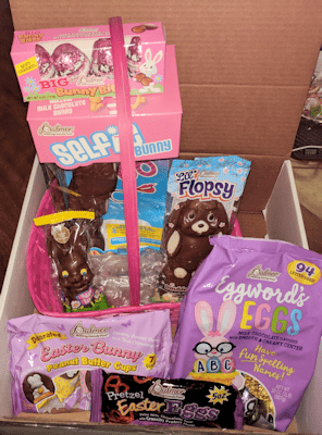 Fill those Easter Baskets with R.M Palmer Easter Candy!
