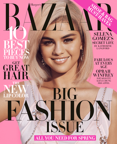 1 yr FREE Harper's Bazaar Magazine Subscription