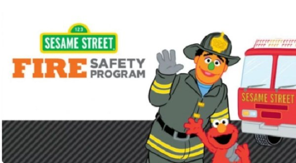 FREE Sesame Street Fire Safety Program Color and activity book
