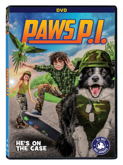 Lionsgate's Paws P.I., on DVD, Digital and more May 29th