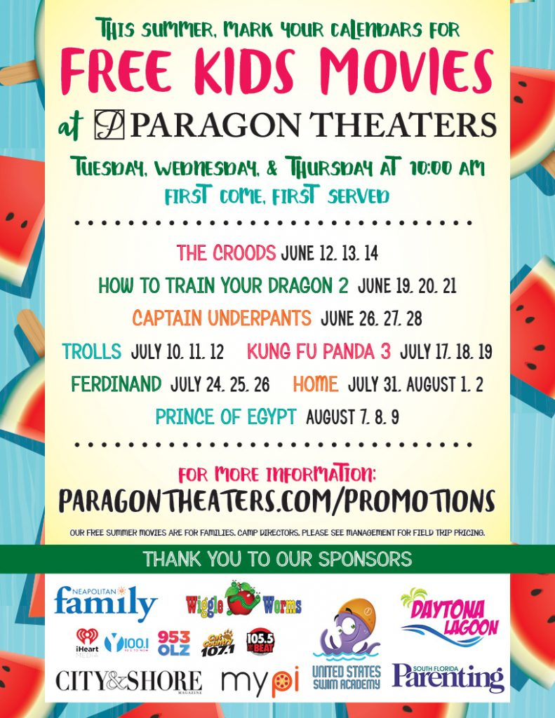 Summer Movie Program