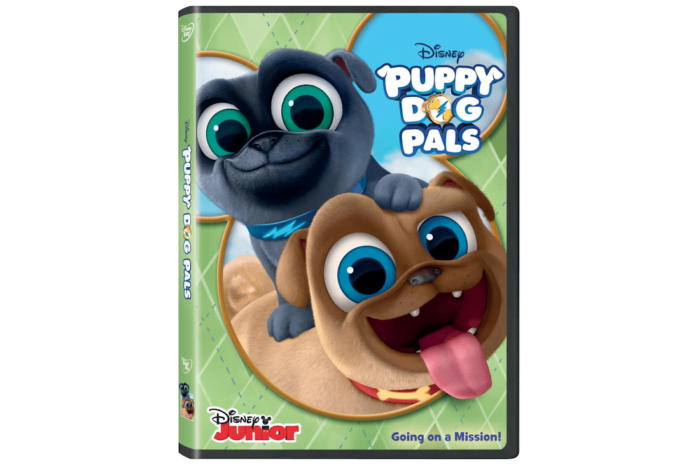 Puppy Dog Pals On DVD Today