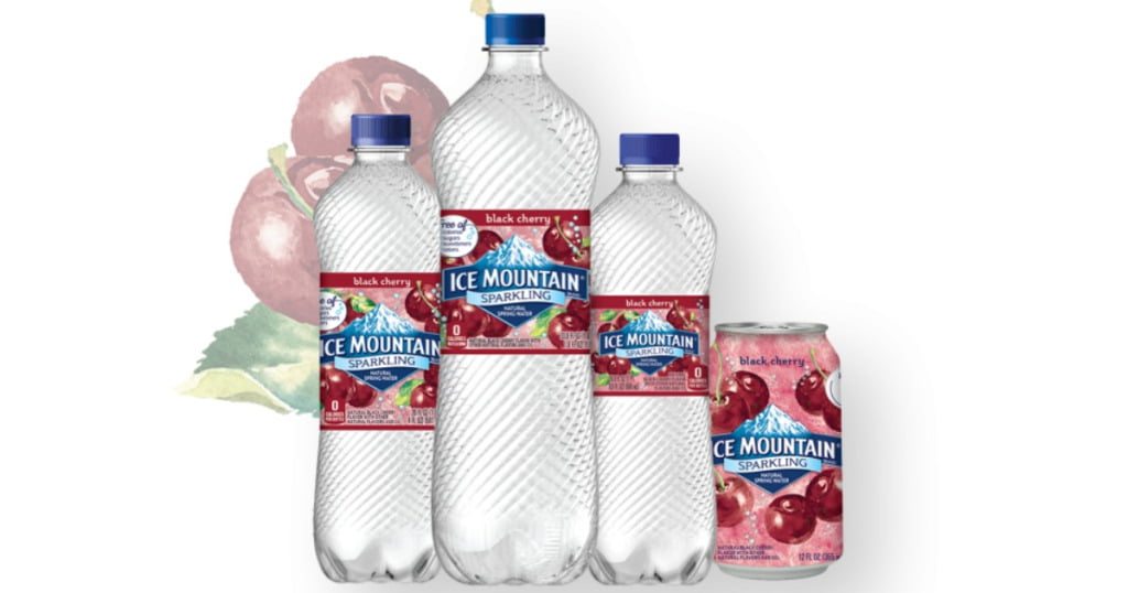 Free Sparkling Ice Mountain Water 8 PACK