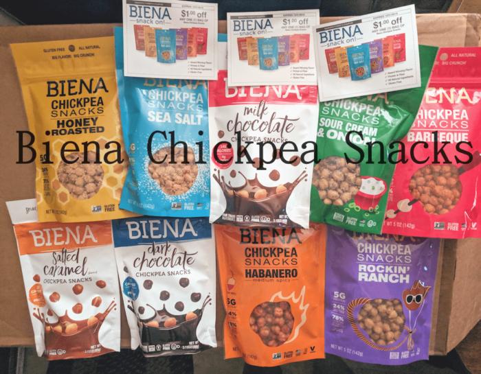 Gluten-Free Biena Chickpea Make Healthy Office Snacks