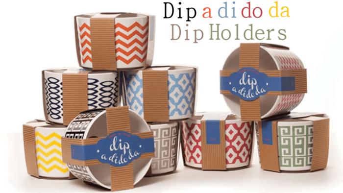 Make your Dip Ready to Party with a Dip a di do da Dip Holder