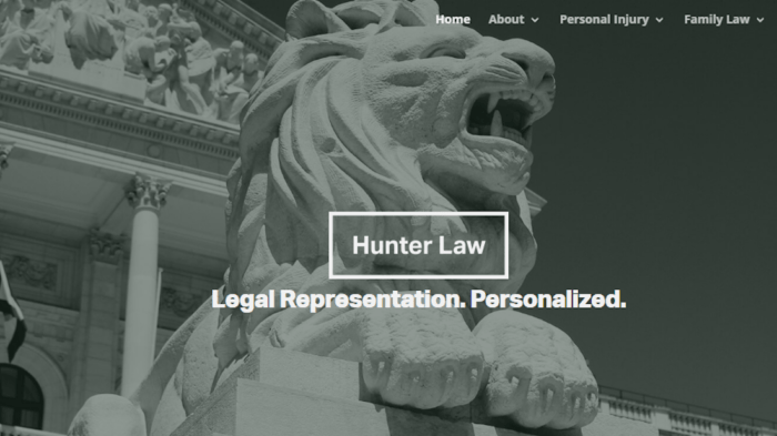 Hunter Law, P.A. Tampa Personal Injury & Family Law
