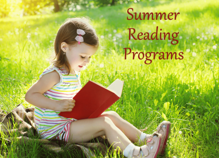 2018 FREE Summer Reading Programs