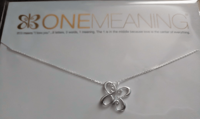 One Meaning I Love You Butterfly Necklace