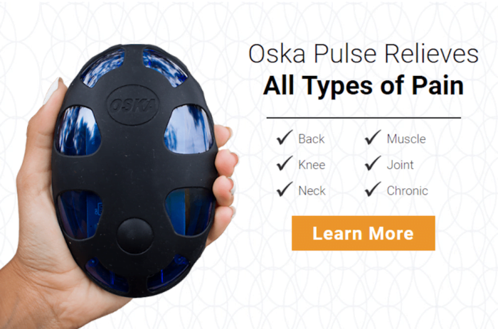 OSKA Pulse PEMF Pain Relief Device