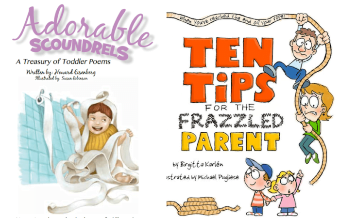Adorable Scoundrels & Ten Tips for the Frazzled Parent Books Giveaway