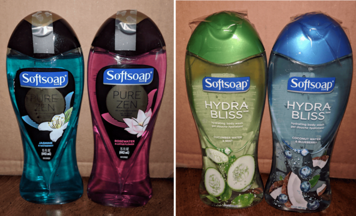 Pamper Mom with New SoftSoap Body Washes