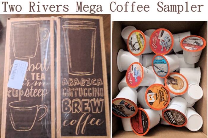 Two Rivers Mega Coffee Sampler Box make your Mornings Special