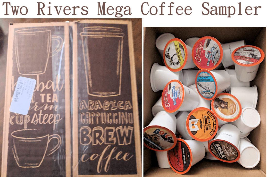 Two Rivers Mega Coffee Sampler