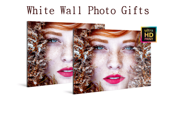 White Wall Photo Gifts for Mom and Dad