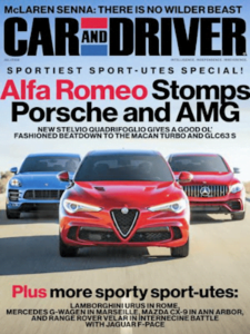 free car and driver magazine