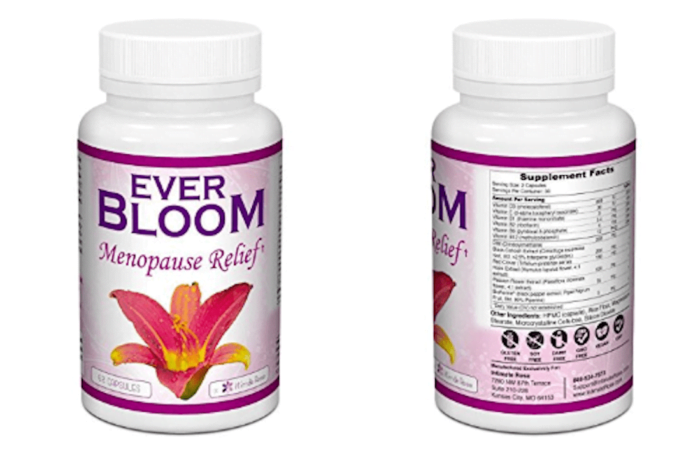 EverBloom Natural Menopause Relief Supplement