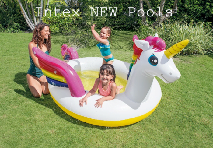 INTEX New above ground Pools Deliver Summer Fun