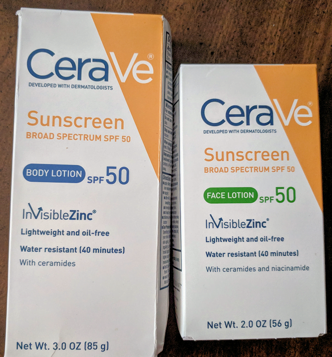 Cerave sunscreen SPF 50
