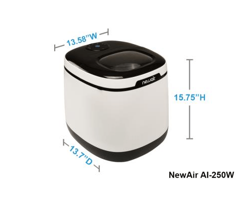 NewAir AI-250W portable countertop ice maker