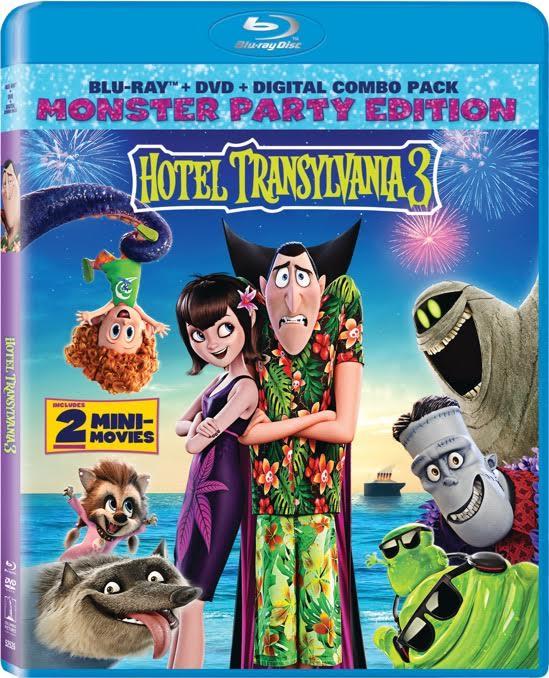 HOTEL TRANSYLVANIA 3 DVD