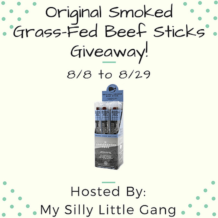 Original Smoked Grass-Fed Beef Sticks Giveaway