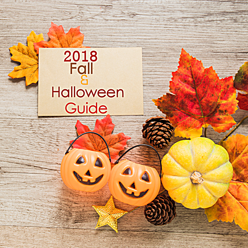 2018 fall and Halloween guide