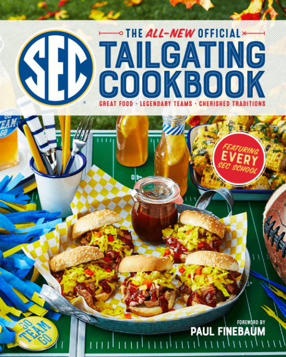 Great Food For Tailgating! New SEC Tailgating Cookbook