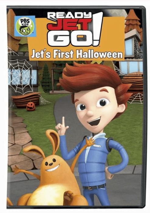 Ready Jet Go! Jet's 1st Halloween DVD