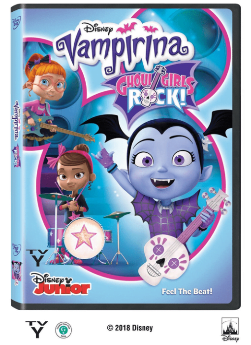 Santa Rocks Out with Vampirina and The Ghoul Girls DVD
