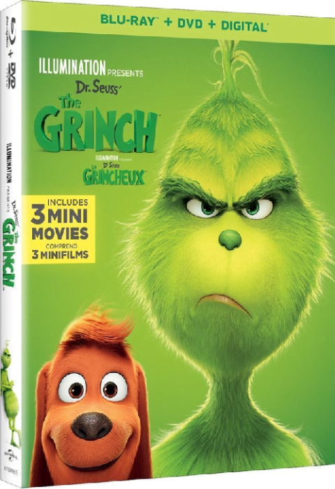 2018 Dr Suess' The Grinch Combo Set