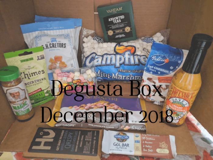 Degusta Box December